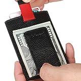 Kinzd Magnetic Money Clip Wallet Leather RFID Blocking Slim Front Pocket Wallet