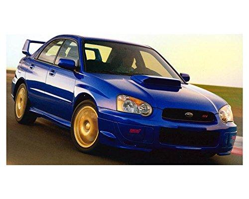 2004 Subaru Impreza WRX Sti Automobile Photo Poster from AutoLit