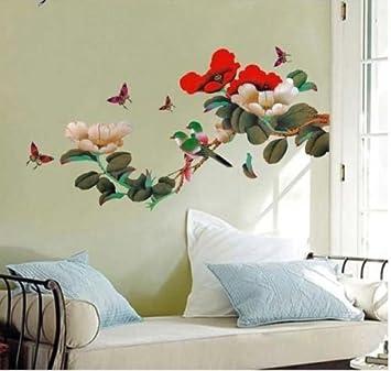 Aufkleber-Sticker-Basteln-Wand-Tattoo-Möbel***  Blumen   **Nr. 18