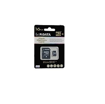 B00NXOA9JM RiDATA - Tarjeta SD de 16 GB Clase 10 con ...