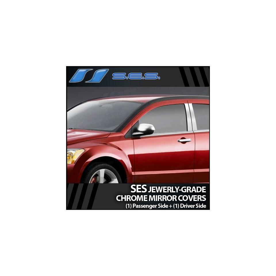 2007 2012 Dodge Caliber SES Chrome Mirror Covers