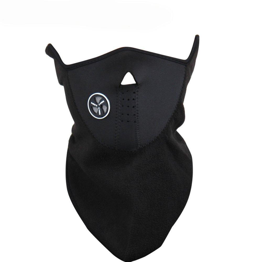 Amazon.com: WOWOWO Neoprene Winter Neck Warm Face Mask Veil Sport ...