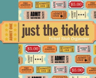 Just the Ticket: Ticket Stub Organizer (1441303502) | Amazon Products