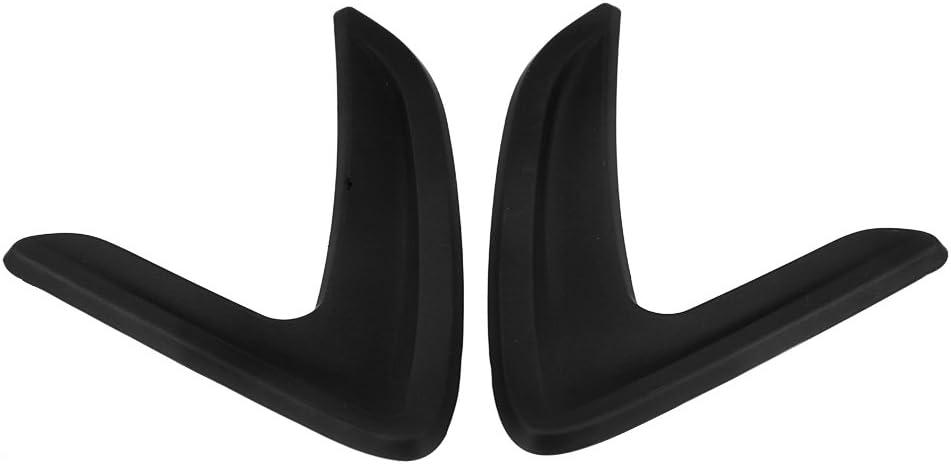 Black Qiilu Car Side Air Vent Cover Trim Side Fender Sticker Decorative Cover for BMW 3 Series F30 F35 316I 320I 328I 330I 335I 2012-2018