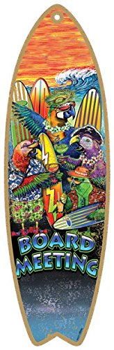 (SJT96231) Board meeting - parrots & surfboards 5