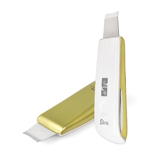 2 opinioni per Elera nuova versione aggiornata mini Ultrasonic Skin scrubber spatola e Infusion