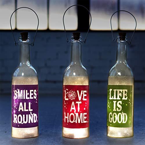 Fairy Lights LED Lamp Decorative Wine Bottle Light Lamps for...