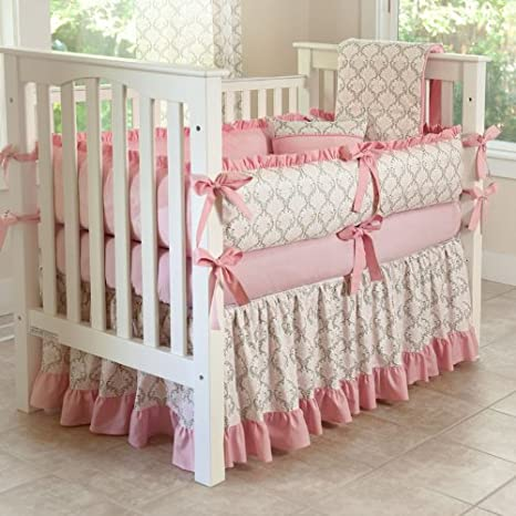 CUSTOM BOUTIQUE BABY BEDDING - Madison - 5 Pc Crib Bedding Set