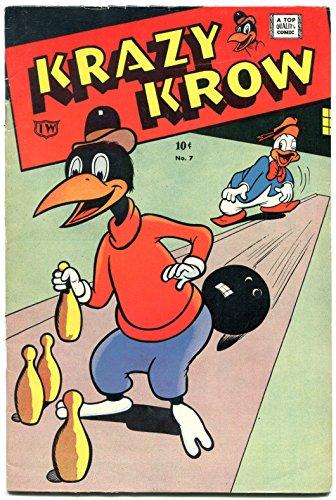 Krazy Krow #7 1964- Golden Age comic Reprint - Bowling cover VF-