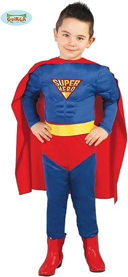 Guirca 83165 - Muscle Hero Infantil Talla 3-4 Años: Amazon.es ...
