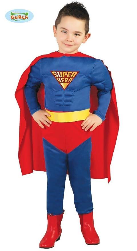 Guirca Costume Vestito Superman Supereroe Carnevale Bambino 8267 10