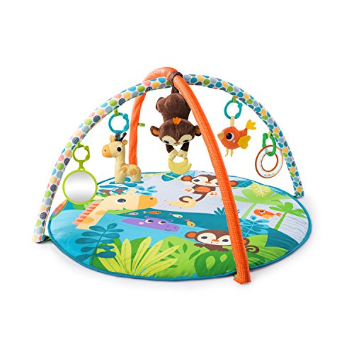 Musical Playmat - Bright Starts Monkey Business Musical Activity Gym