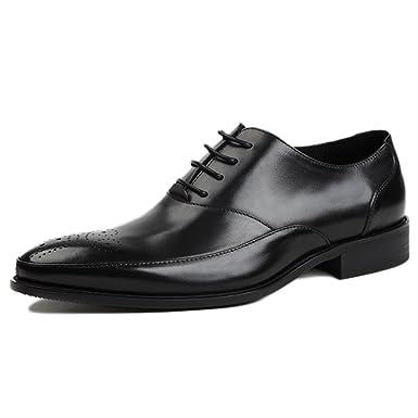 Herren Brogues Derby Echtes Leder Business Formales Kleid Uniform Schuhe Derby Oxford Lace Up Spitz Sandale Hochzeitsschuhe