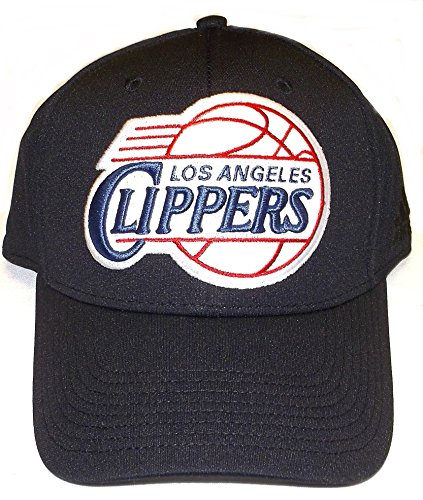 adidas Los Angeles Clippers Black Run & Gun Flex Fitted Hat - S/M - MZ305
