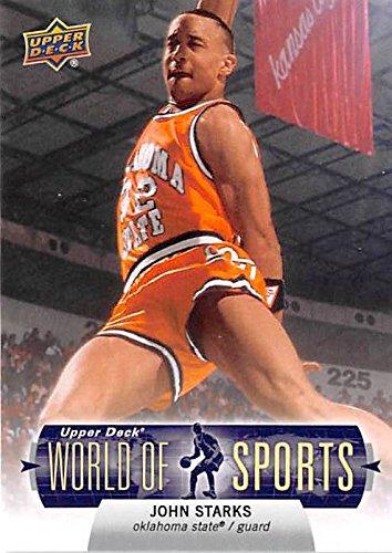 John Starks basketball card (Oklahoma State Cowboys NCAA Knicks) 2010 Upper Deck World Sports #56