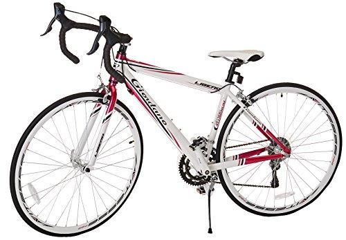 Giordano Women's Libero 1.6 Road Bike, Medium, White/Pink