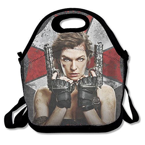 Resident Evil The Final Chapter 2016 Poster Lunch Bag Insulated Tote