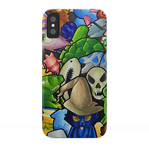 Society6 iPhone X Cases, Featuring All terraria's Pets by bettypico -