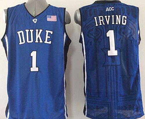Men's Duke Blue Devils NO.1 IRVING Basketball Jersey NCAA Basketball Jersey for Men