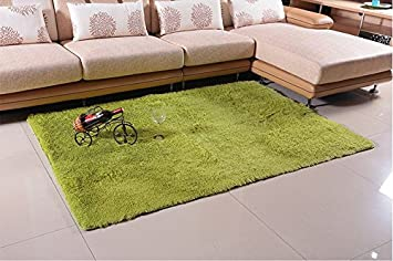 Super Soft Modern Shag Area Anti Slip Rugs Living Room Carpet Bedroom Rug  For Children Part 86