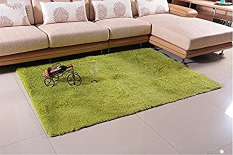 amazon com super soft modern shag area anti slip rugs living room