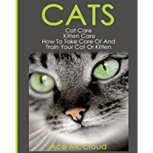 Cats: Cat Care: Kitten Care: How To Take Care Of And Train Your Cat Or Kitten (Complete Guide to Cat Care & Kitten Care with Pro)