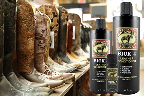Bickmore Bick 4 Leather Conditioner - Best Since 1882 - Cleaner & Conditioner - Restore Polish & Protect All Smooth Finished Leathers