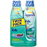 Coppertone Kid's Continuous Spray SPF 50 , 6 Ounces (Twin Pack)