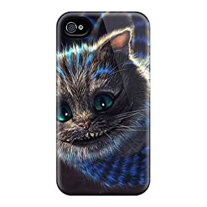 Protector Hard Phone Case For Iphone 6 (Qzc5703DBNE) Allow Personal Design Beautiful Cheshire Cat Pictures