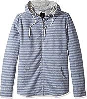 KAVU Men's Baja Zip Jacket, Workwear Blue, Medium