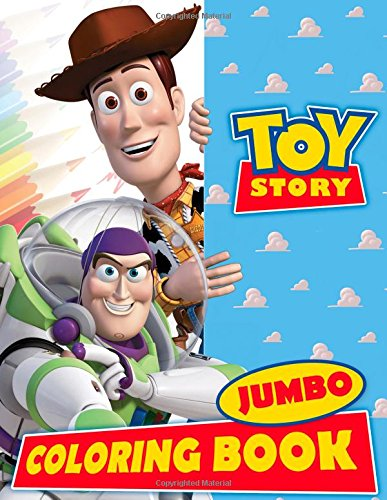 Toy Story JUMBO Coloring Book: Great Activity Book for Kids and Any Fan of Toy Story Characters