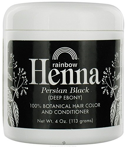 Rainbow Research Henna Persian Black 4 Oz, 2 pack by Rainbow Research