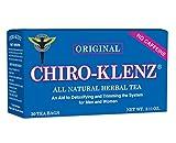 Chiro-Klenz All Natural Herbal Tea - Constipation Relief - Original Flavor 30 Tea Bags