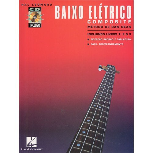 Baixo Eletrico - Composite (Book/3CD). For Basso elettrico Hal Leonard