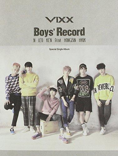 CD : Vixx - Boys\' Record (Asia - Import)