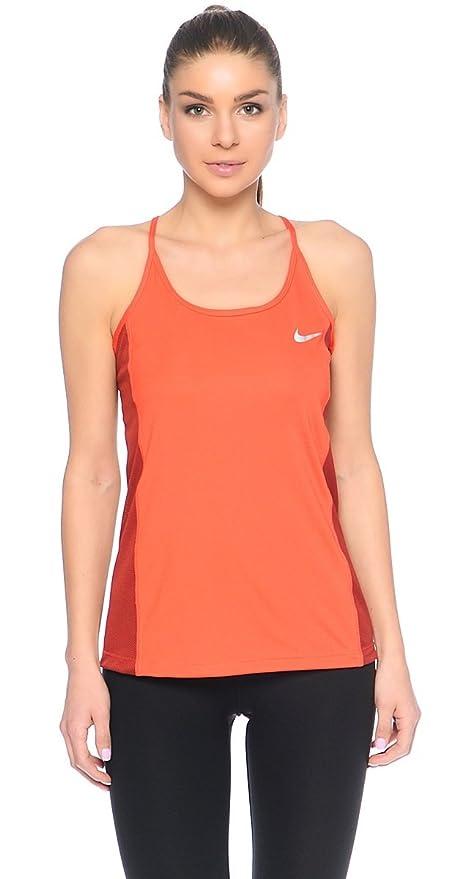 Dry Sin Camiseta MangasMujerNaranjamax Nike Nk CayenneM Miler Orangedark W fY7bgy6