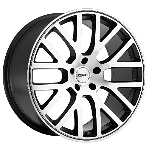 TSW Alloy Wheels Donington Gunmetal Machined Wheel (20x8.5