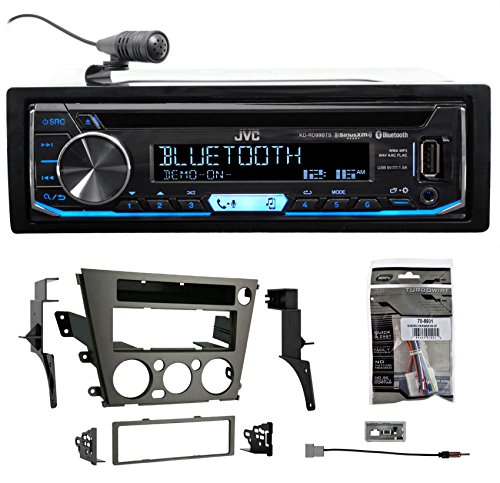 JVC CD Receiver w/Bluetooth USB/iPhone/Android/XM For 2005-2009 Subaru Outback