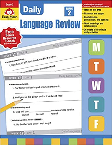 Daily Language Review Grade 2 Daily Practice