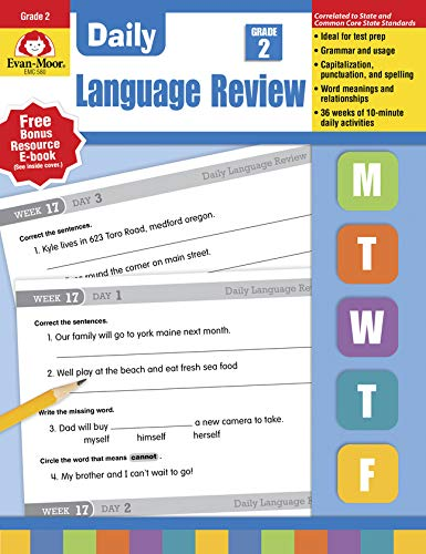 Daily Language Review, Grade 2 (Daily Practice Series) (Daily Math Practice Grade 1)