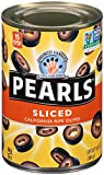 Pearls Sliced Ripe Black Olives, 6.5 Ounce (Pack of 12)