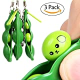 Automotive Parts and Accessories - Fidget Toys Cute Chain SHANG MEDING Puchi Edamame Keychain Bubble Pop Pea Pod Squeeze Bean Infinite Wrap For Adults Best Toy Prime Peas Fun Random Things