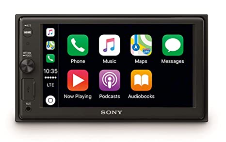Sony XAV-AX1000 - Reproductor 2DIN para coche (Apple CarPlay, bluetooth y NFC