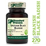 Standard Process - Spanish Black Radish - Supports Healthy Liver and Gallbladder Function, Digestion and Toxin-Elimination, Provides Vitamin C, Gluten Free and Vegetarian - 270 Tablets