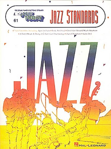 Jazz Standards: E-Z Play Today Volume 61