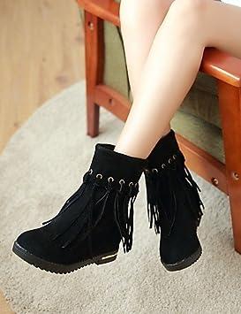 Mujer Botines Zapatos – Botas – Mujer vestido/LÄSSIG – sintética de ante – Bloque