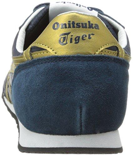 Onitsuka Tiger Serrano Fashion Sneaker Blu / Oro