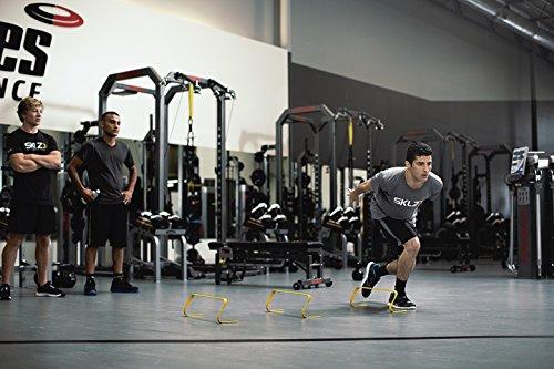 "SKLZ 6x Hurdles- 6"" Ultra Durable, All Purpose Speed Training, Agility, and Plyometric Hurdles (Set of 6)."