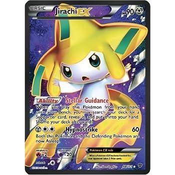 Jirachi ex plasma blast 98 101 full art pokemon card rare toys games - Carte pokemon ex rare ...