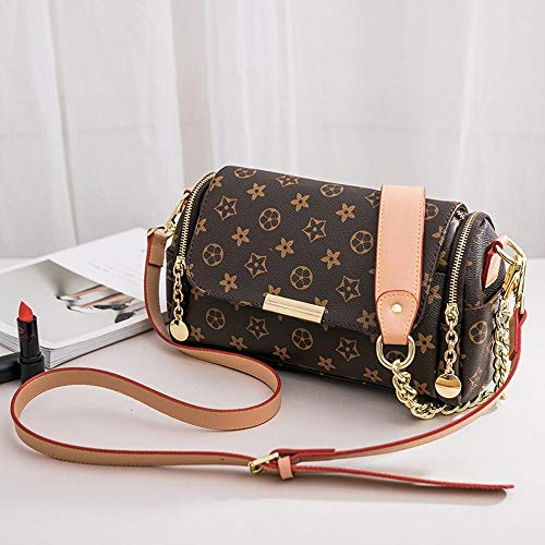 Female and Pillow Printing Hongge Handbag Fashion Shoulder PU Baotan Bag with Bag qY8navxwAa
